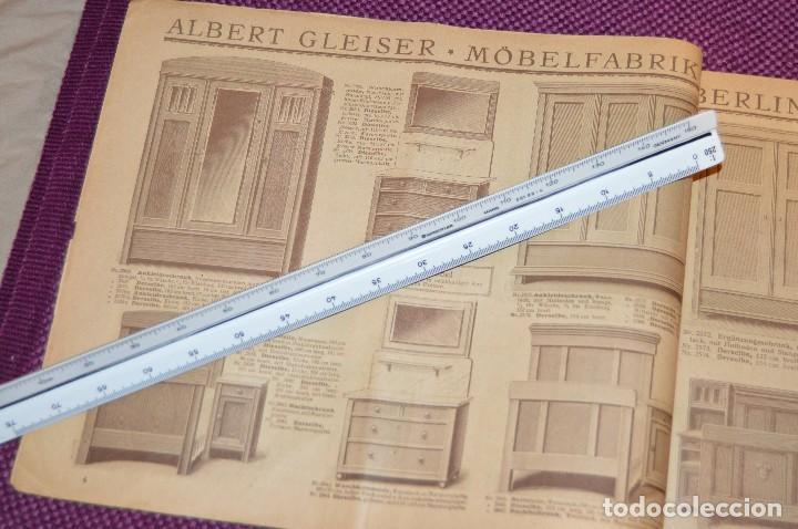 ANTIGUA REVISTA - CATÁLOGO DE MUEBLES ART DECO - PRINCIPIOS 1900 - ALBERT GLEISER MÖBELFABRIC BERLIN (Vintage - Muebles)