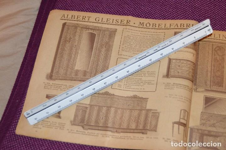 Vintage: ANTIGUA REVISTA - CATÁLOGO DE MUEBLES ART DECO - PRINCIPIOS 1900 - ALBERT GLEISER MÖBELFABRIC BERLIN - Foto 7 - 107452955