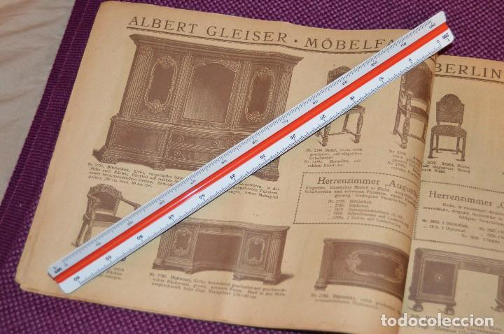 Vintage: ANTIGUA REVISTA - CATÁLOGO DE MUEBLES ART DECO - PRINCIPIOS 1900 - ALBERT GLEISER MÖBELFABRIC BERLIN - Foto 9 - 107452955