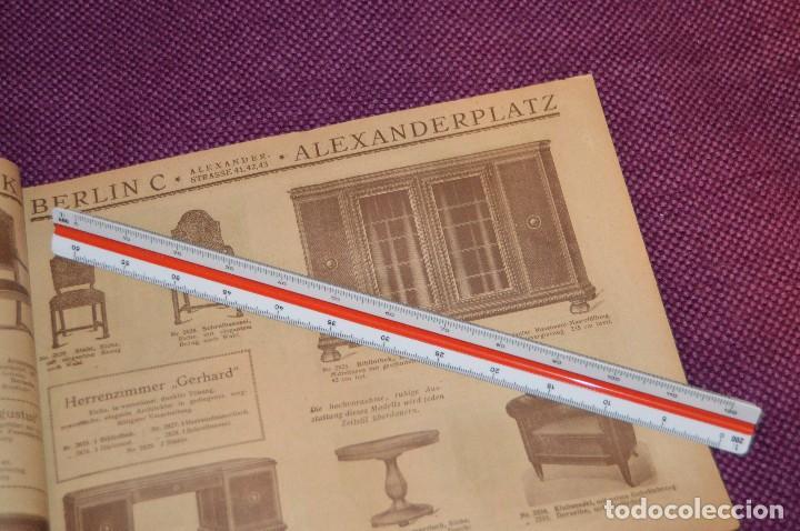 Vintage: ANTIGUA REVISTA - CATÁLOGO DE MUEBLES ART DECO - PRINCIPIOS 1900 - ALBERT GLEISER MÖBELFABRIC BERLIN - Foto 10 - 107452955