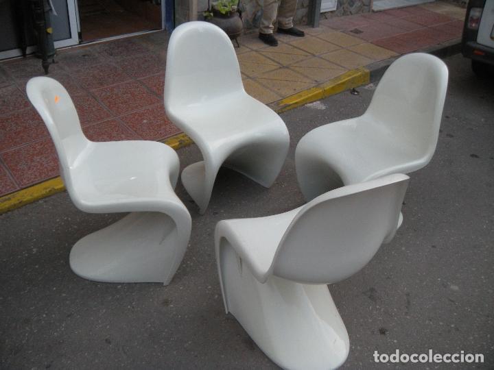 Vintage: 4 SILLAS DISEÑO - Foto 6 - 107588527