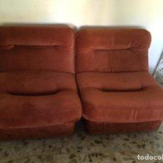 Vintage: SOFÁ COMPUESTO POR TRES MÓDULOS. Lote 108258919