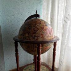 Vintage: MUEBLE BAR BOLA DEL MUNDO VER FOTOS. Lote 138842332