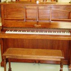 Vintage: PIANO BAR EN MADERA DE NOGAL. Lote 108367615