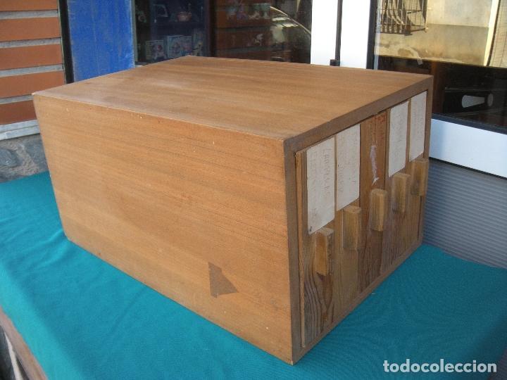 Vintage: MUEBLE CON 5 CAJONES - Foto 4 - 108849719