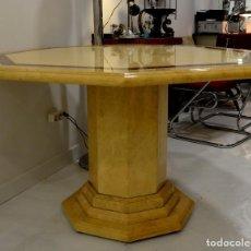 Vintage: MESA DE COMEDOR JEAN CLAUDE MAHEY. Lote 109038323