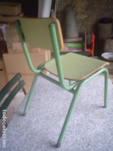 Vintage: preciosa silla niño escolar vintage - Foto 3 - 109296135