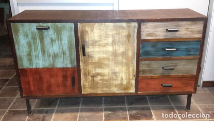 aparador estilo industrial vintage muebles - Muebles Estilo Industrial