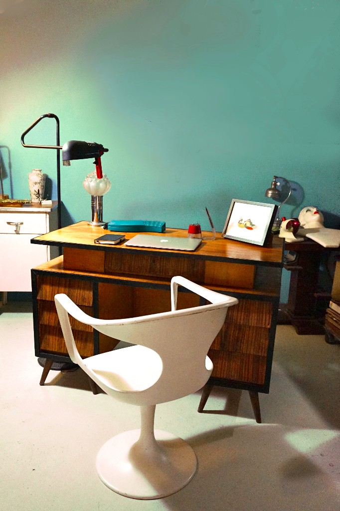 Mesa escritorio despacho bambi vintage shabby c comprar - Muebles shabby chic online ...