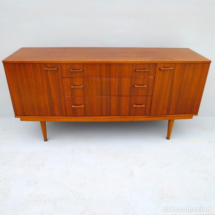 Adesivo Delineador Karen Bachini ~ aparador de teca años 70 diseño estilo escandi Comprar Muebles vintage en todocoleccion