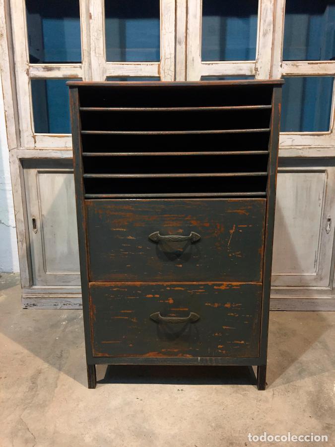 antiguo mueble industrial de oficios de taller - Comprar Muebles ...