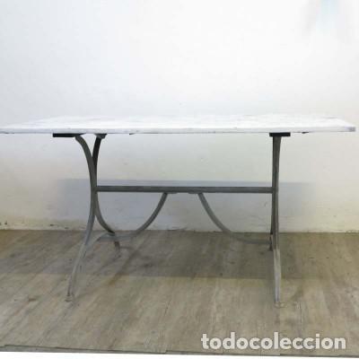 mesa vintage de comedor de madera y metal. 1950 - Comprar Muebles ...