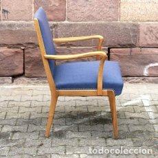 Vintage: SILLA VINTAGE DE MADERA. DINAMARCA 1950 - 1960 (BRD). Lote 111606483