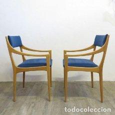 Vintage: DOS SILLAS VINTAGE DE ESTILO ESCANDINAVO. 1950 - 1960 (BRD). Lote 111610315