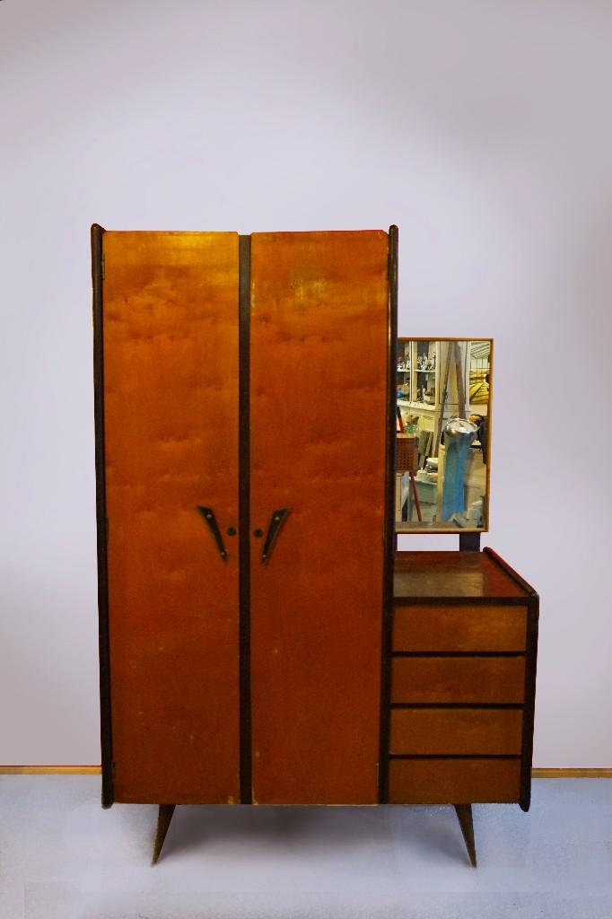armario ropero vintage antiguo años 50 rockabil - Comprar Muebles ...