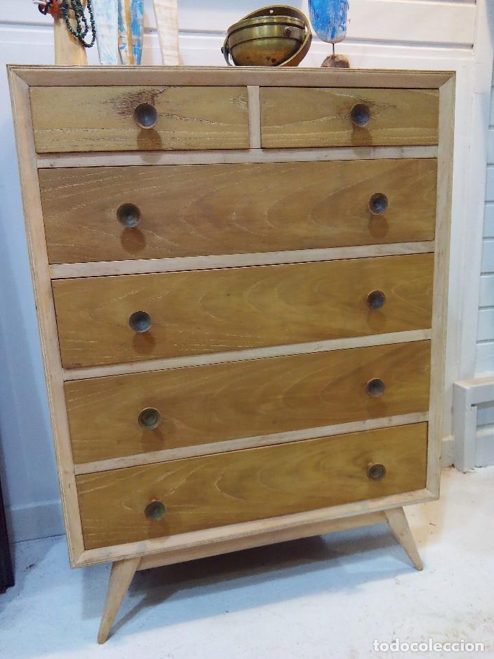 C moda cajonera estilo n rdico comprar muebles vintage - Muebles estilo nordico ...