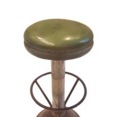 Vintage: ANTIGUO TABURETE DE BAR. Lote 112488567