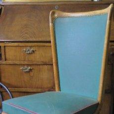 Vintage: BONITA SILLA DE ROBLE ESCANDIVA. NORDICA. AÑOS 60. Lote 112524311