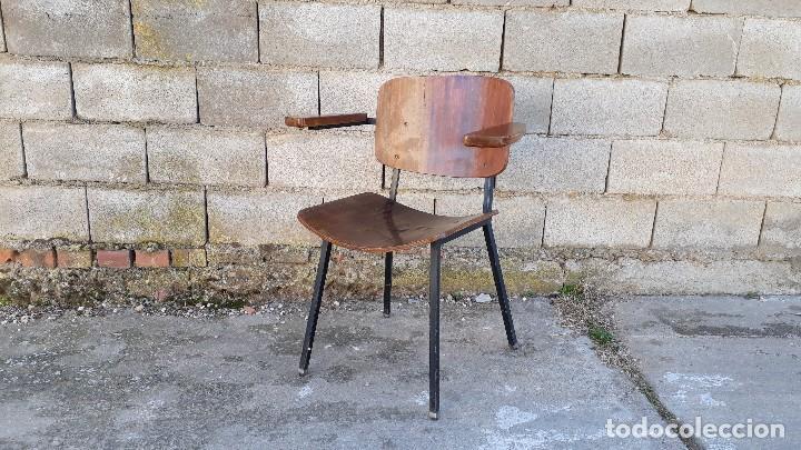 SILLÓN ANTIGUO ESTILO MARTIN VISSER BUTACA ANTIGUA ESTILO INDUSTRIAL SILLA ANTIGUA ESTILO DANÉS (Vintage - Muebles)