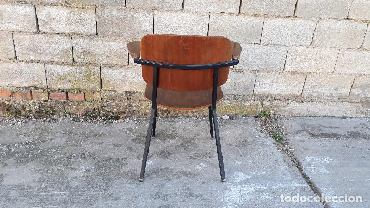 Vintage: Sillón antiguo estilo Martin Visser butaca antigua estilo industrial silla antigua estilo danés - Foto 4 - 113355363
