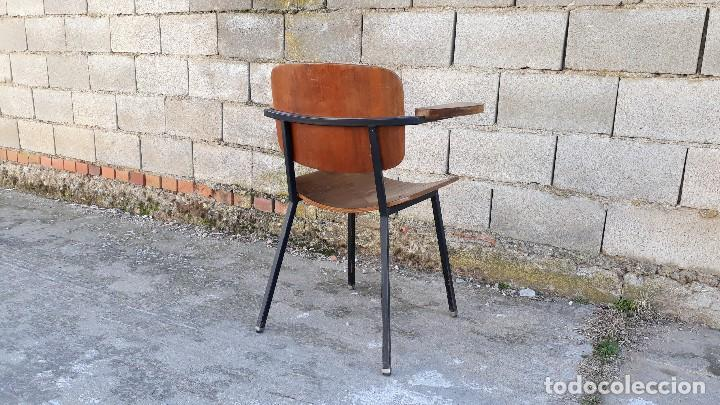 Vintage: Sillón antiguo estilo Martin Visser butaca antigua estilo industrial silla antigua estilo danés - Foto 5 - 113355363