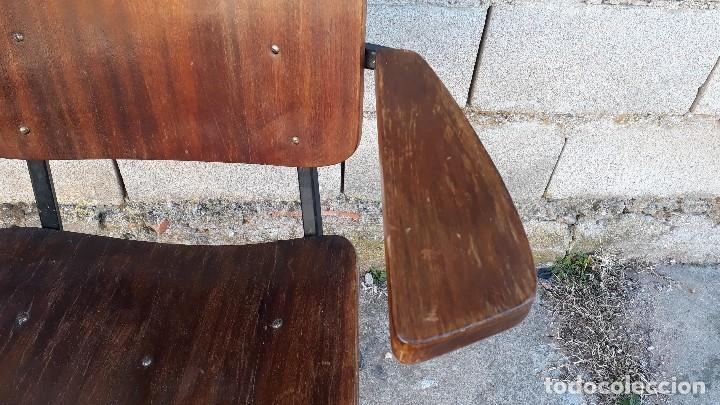 Vintage: Sillón antiguo estilo Martin Visser butaca antigua estilo industrial silla antigua estilo danés - Foto 7 - 113355363