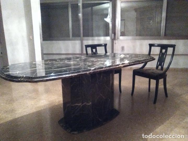 mesa de marmol grande para 8 comensales y lampa - Comprar Muebles ...