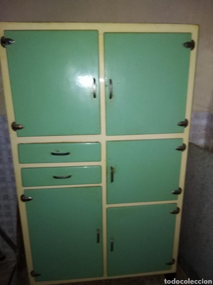 Mueble De Cocina Retro Comprar Muebles Vintage En Todocoleccion - Cocina-retro-vintage