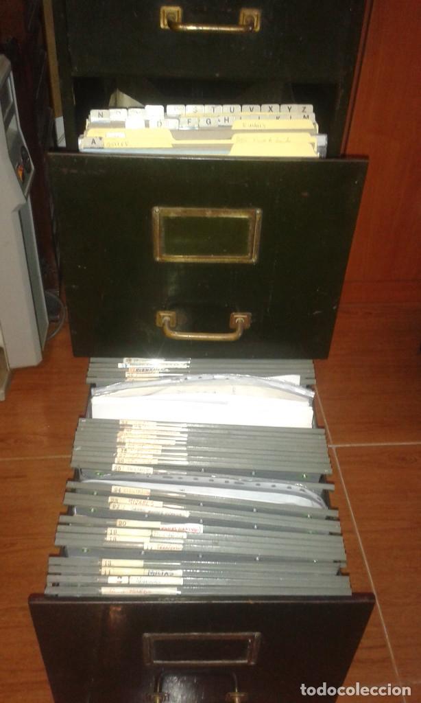 Vintage: archivador metalico 4 cajones roneo - Foto 2 - 84856196