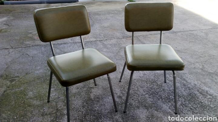 Pareja de sillas ferro color /sillas oficina añ - Vendido en Venta ...