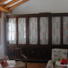 Vintage: LLIBRERIA CASTELLANA PERFECTO ESTADO COTALLADOS EN PUERTAS. Lote 115087687
