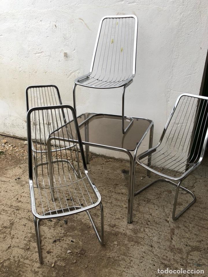 mesa y sillas vintage - Comprar Muebles vintage en todocoleccion ...