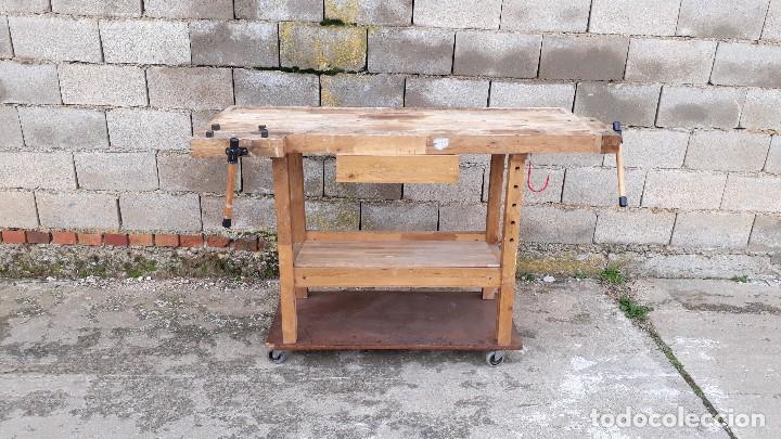 mesa taller, banco de trabajo de carpintero, me - Comprar Muebles ...