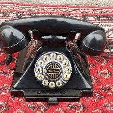 Vintage: TELÉFONO ANTIGUO COLOR NEGRO, TELÉFONO RETRO VINTAGE AÑOS 40, RÉPLICA, FUNCIONA, NUEVO.. Lote 115344791
