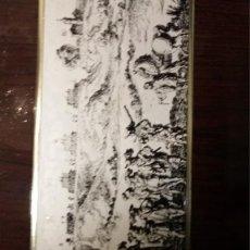 Vintage: CHAPAS DECORADAS CON TINTA SOBRE MUEBLES RECHAPADOS DE LOS 60. Lote 115428471