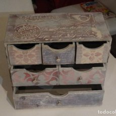 Vintage: JOYERO-CAJONERA ESTILO VINTAGE. Lote 116132971