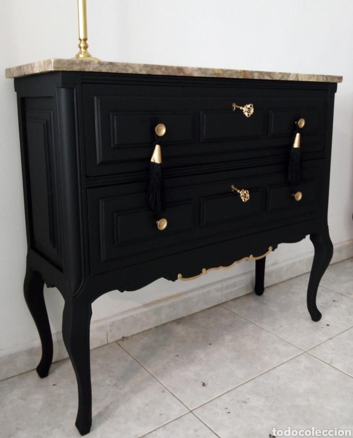 Mueble recibidor vintage comprar muebles vintage en todocoleccion 116460888 - Muebles recibidor vintage ...