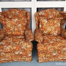 Vintage: 2 SILLONES OREJEROS. Lote 116617107