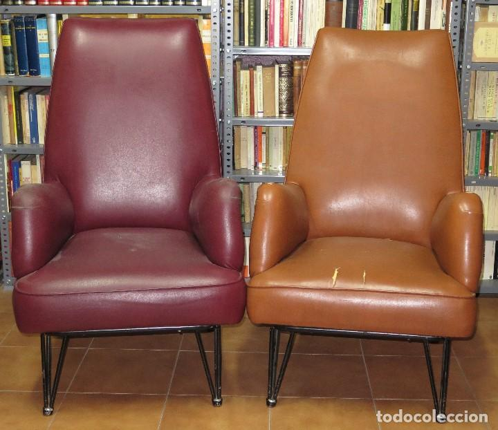 Pareja de sillones o butacas a os 60 comprar muebles vintage en todocoleccion 116685275 - Muebles anos 60 ...