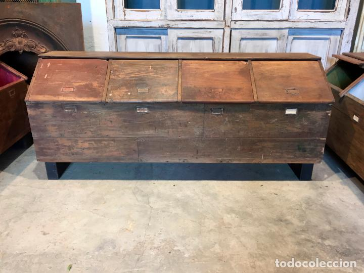 antiguo mueble granera para colores pigmentos n Comprar Muebles