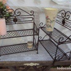 Vintage: 2 ESTANTERÍAS. Lote 117161659