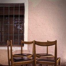 Vintage: SILLA ESCANDINAVA TECA TRANSPORTE GRATIS COMUNIDAD DE MADRID DISEÑO NORDICO ESCANDINAVO. Lote 117343435