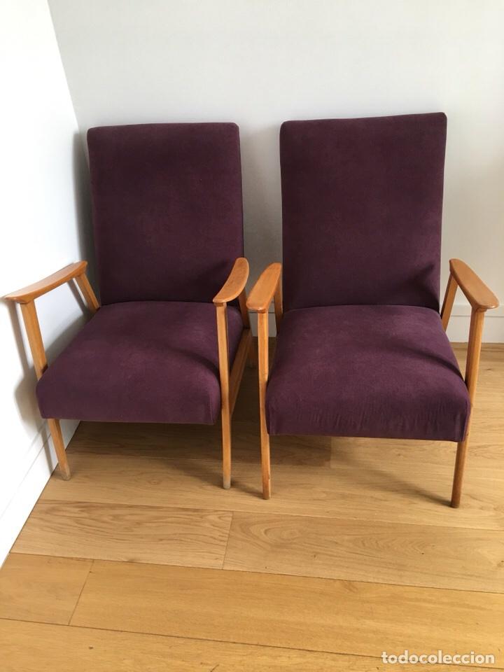 Butacas escandinavas a os 60 comprar muebles vintage en todocoleccion 117975132 - Muebles anos 60 ...