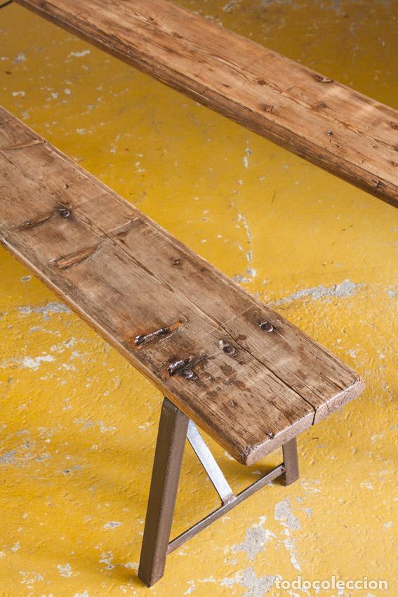 banco de estilo industrial de gran tamaño - dos - Comprar Muebles ...