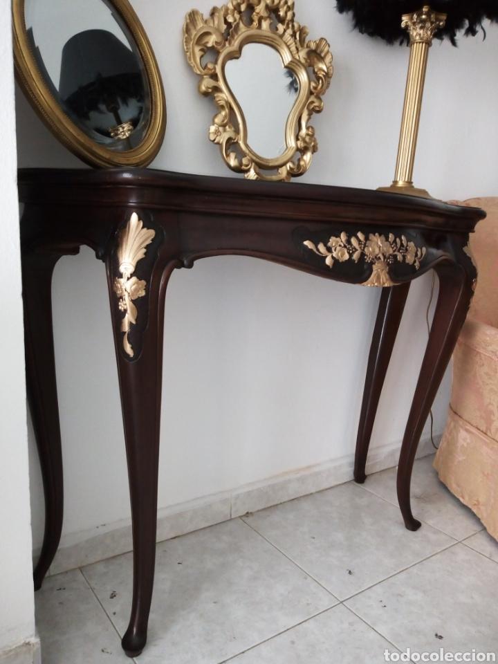 Mueble recibidor comprar muebles vintage en todocoleccion 118915114 - Muebles recibidor vintage ...