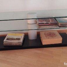 Vintage: MESA CRISTAL, RESISTENTE Y CON ESTILO. Lote 119258479