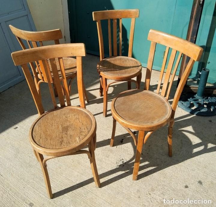 Juego de dos sillas mocholi a os 60 vendido en subasta - Sillas anos 60 ...