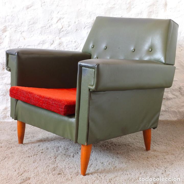 Vintage: Pareja de sillones vintage de 1960 - Foto 2 - 119604675