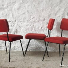 Vintage: 3 SILLAS AÑOS 70 VINTAGE PARA TAPIZAR :: OFERTA ::. Lote 119606287