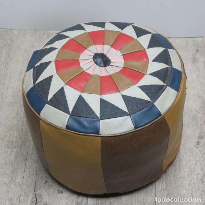 PUF / TABURETE VINTAGE 1960 - 1970 (BRD) (Vintage - Muebles)